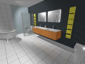 vue 3d ligiciel cuisines bains placards kodes3d