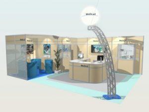 rendu photo-réaliste logiciel 3d expo stands