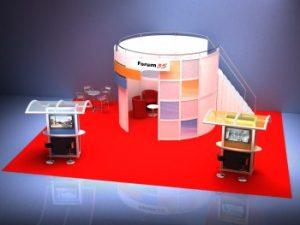 rendu lumière logiciel 3d expo stands