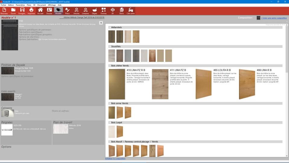 App6 d veloppement de logiciels 3d sur mesure et site web - Logiciel de cuisine professionnel ...