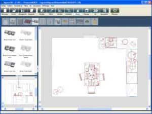 vue ensemble logiciel cuisine 3D