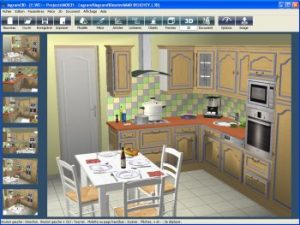 rendu 3d logiciel cuisine 3D