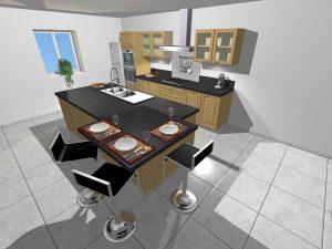 vue 3d cocinas metodo saitra