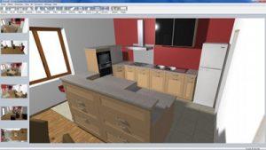 rendu 3d rapide logiciel cuisine neoform